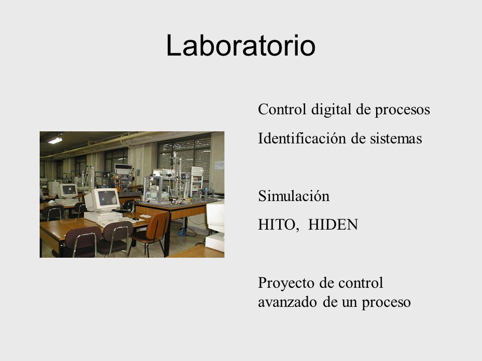 Laboratorio Control digital de procesos Identificación de sistemas