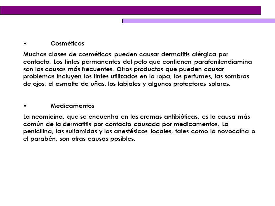 • Cosméticos
