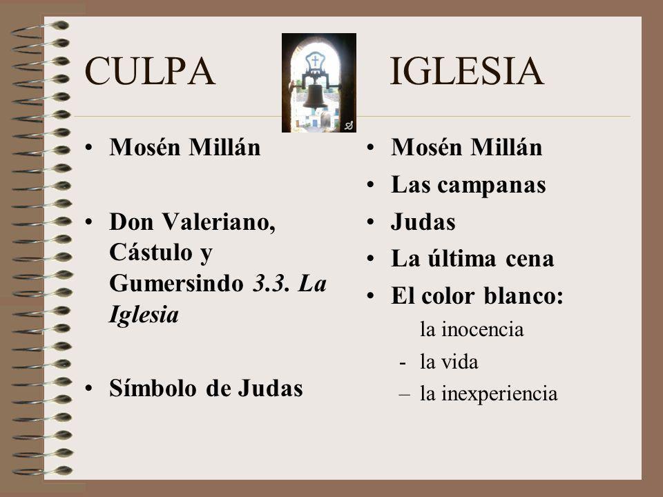 CULPA IGLESIA Mosén Millán