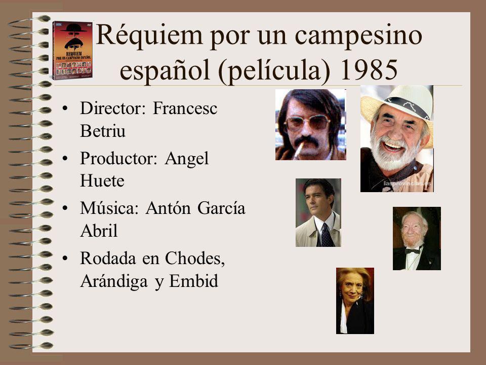 Réquiem por un campesino español (película) 1985
