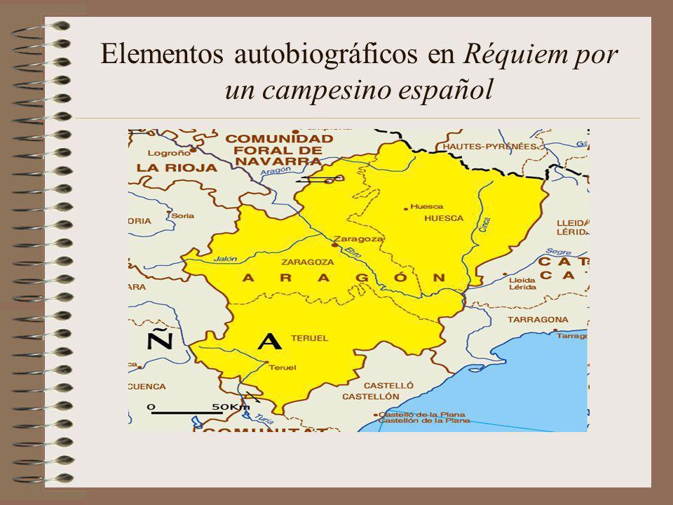 Elementos autobiográficos en Réquiem por un campesino español