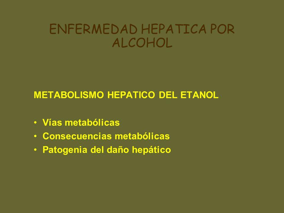 ENFERMEDAD HEPATICA POR ALCOHOL