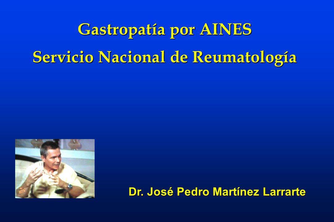 Servicio Nacional de Reumatología Dr. José Pedro Martínez Larrarte