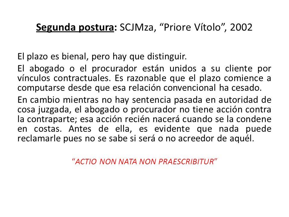 Segunda postura: SCJMza, Priore Vítolo , 2002