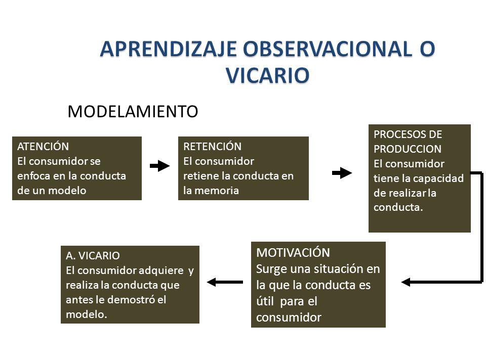 APRENDIZAJE OBSERVACIONAL O VICARIO