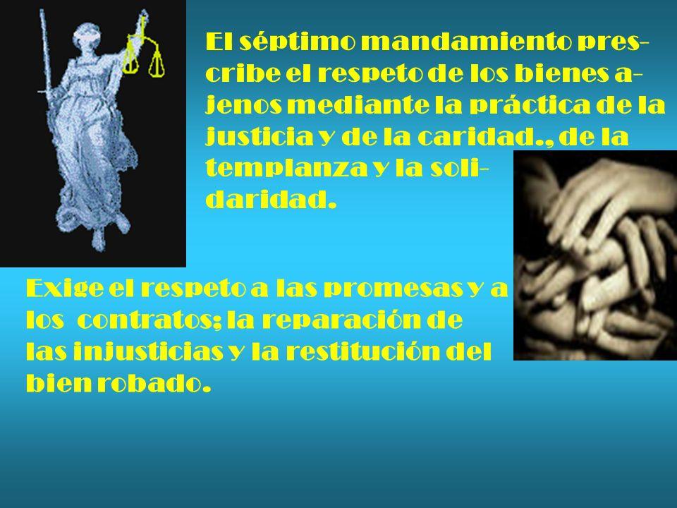 El séptimo mandamiento pres-