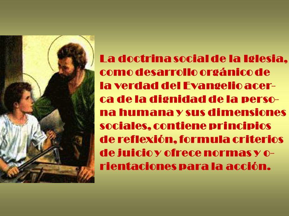 La doctrina social de la Iglesia,