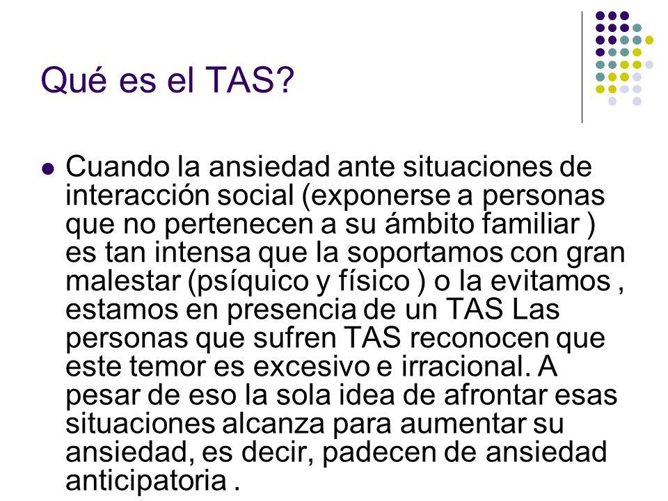 Qué es el TAS