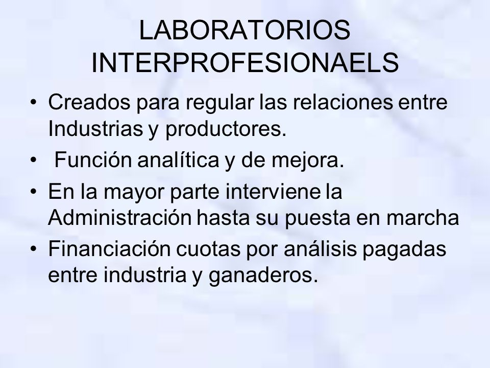 LABORATORIOS INTERPROFESIONAELS