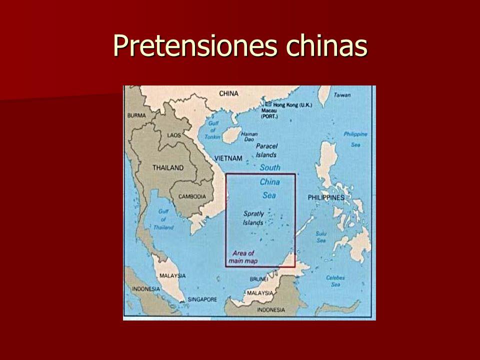 Pretensiones chinas