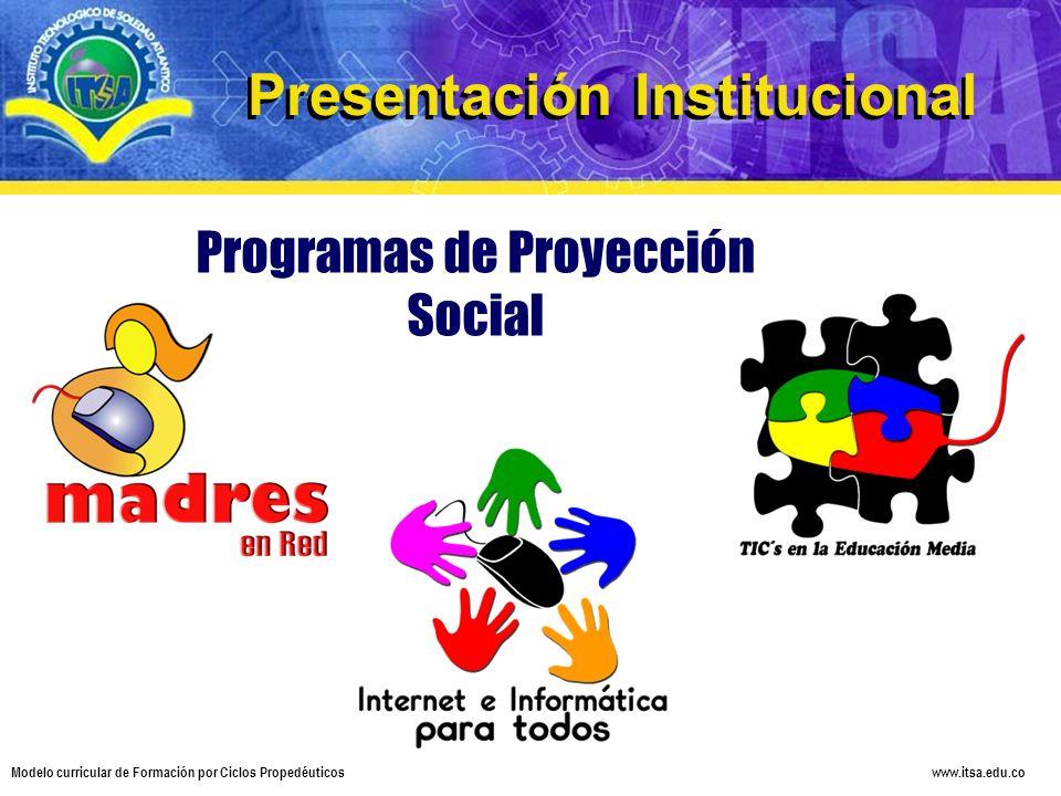 Programas de Proyección Social