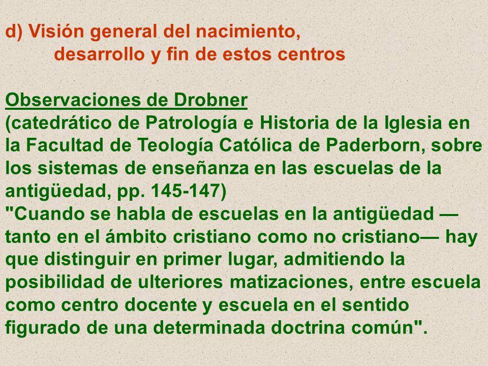 d) Visión general del nacimiento,