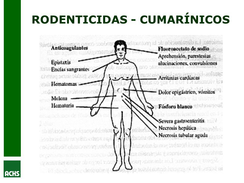 RODENTICIDAS - CUMARÍNICOS