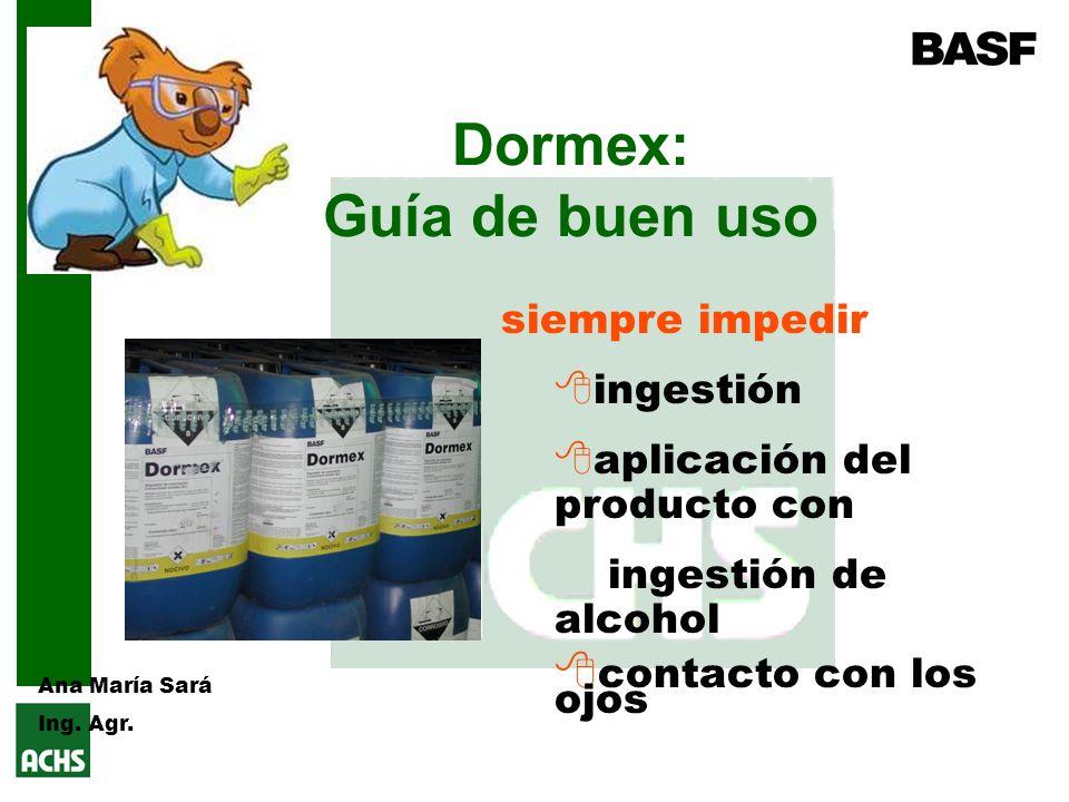 Dormex: Guía de buen uso