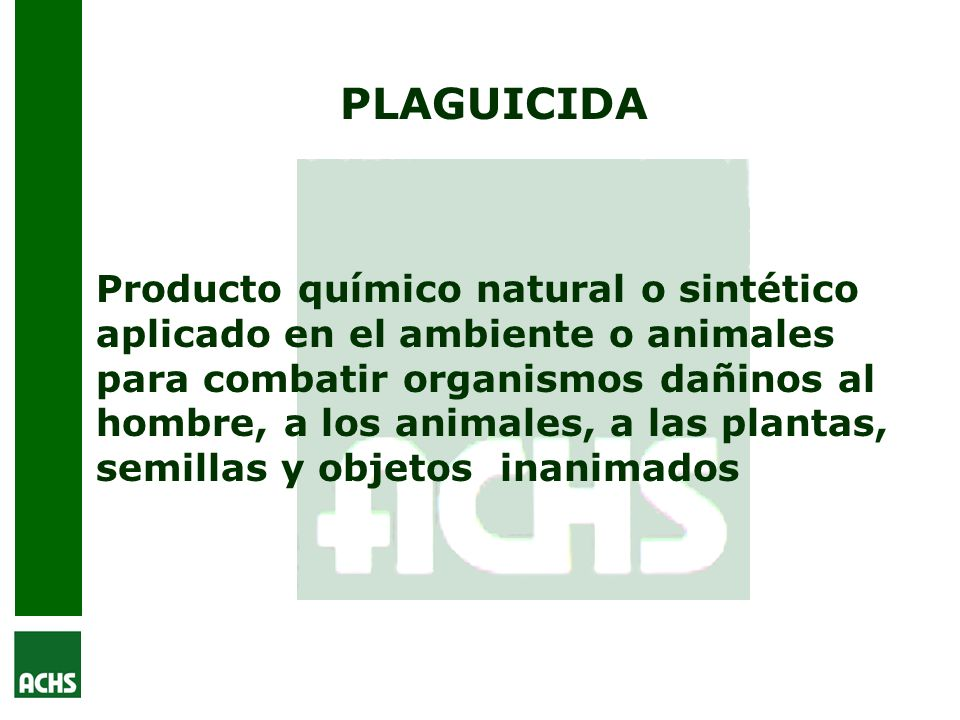 PLAGUICIDA