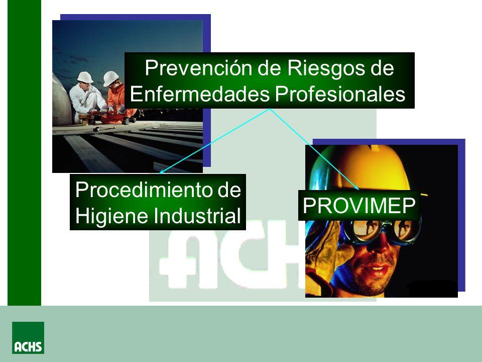 Prevención de Riesgos de Enfermedades Profesionales