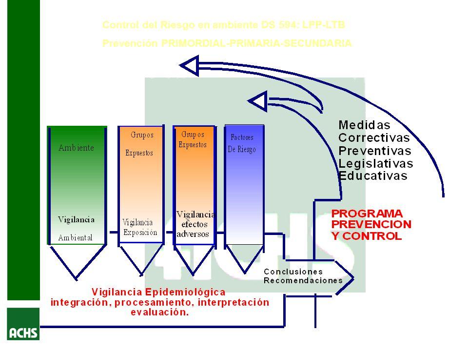 Control del Riesgo en ambiente DS 594: LPP-LTB