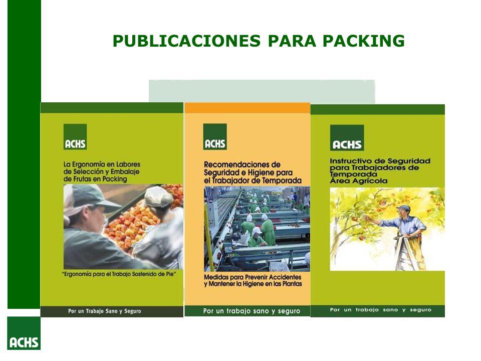 PUBLICACIONES PARA PACKING