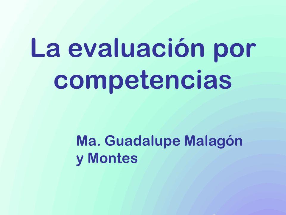La evaluación por competencias