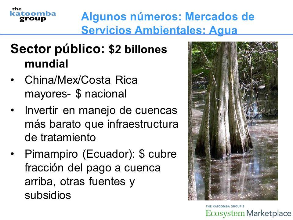 Sector público: $2 billones mundial