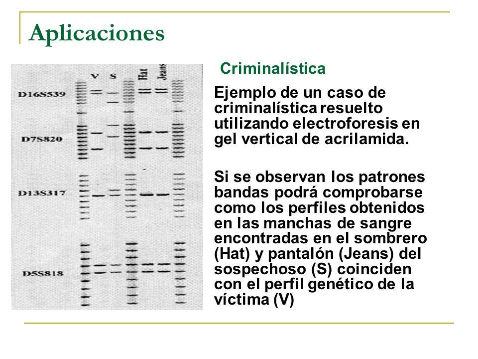 Aplicaciones Criminalística