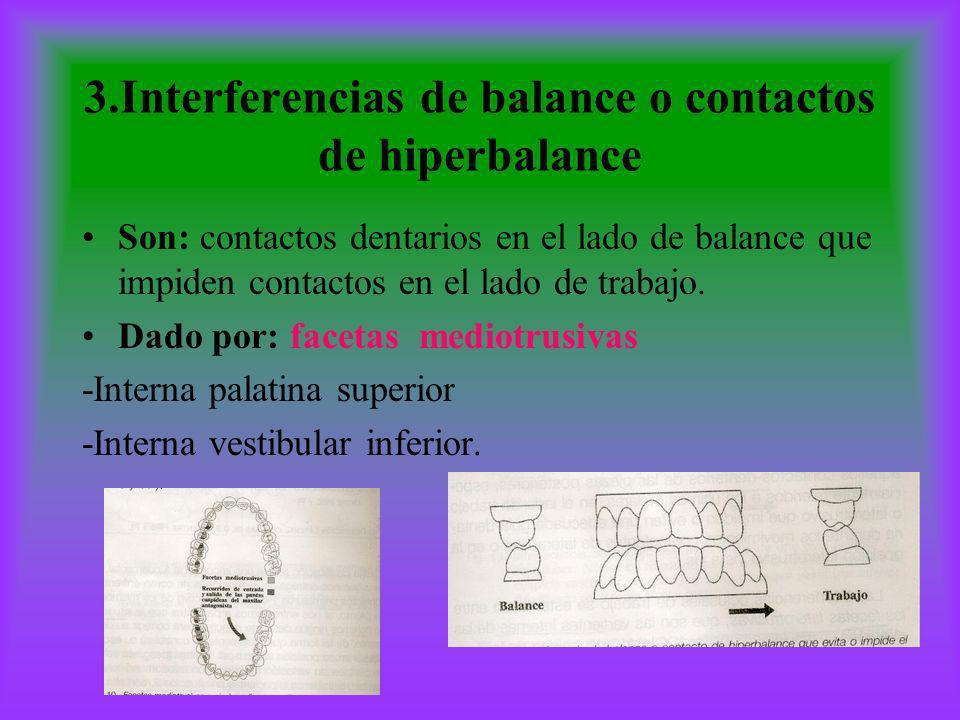 3.Interferencias de balance o contactos de hiperbalance