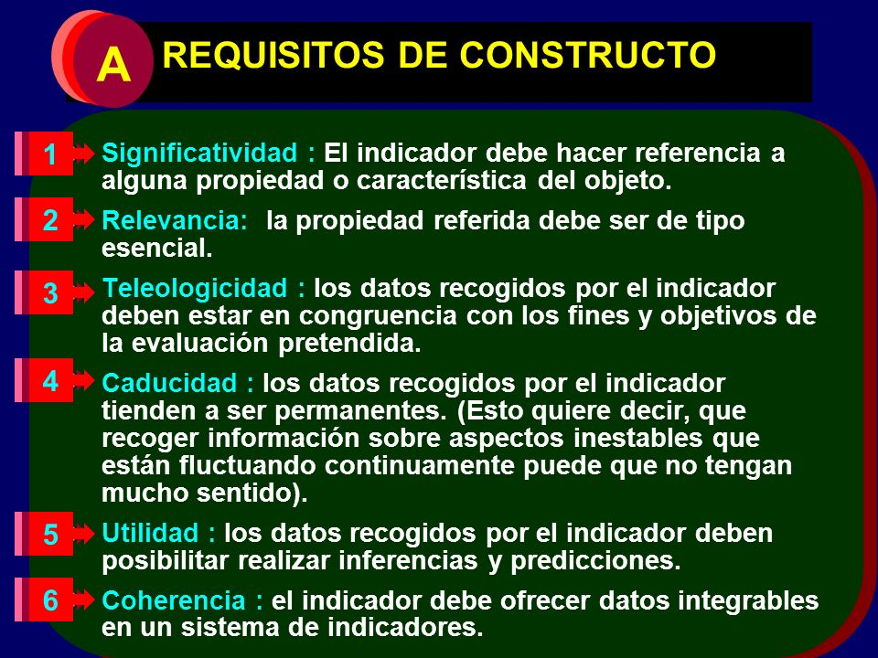 REQUISITOS DE CONSTRUCTO