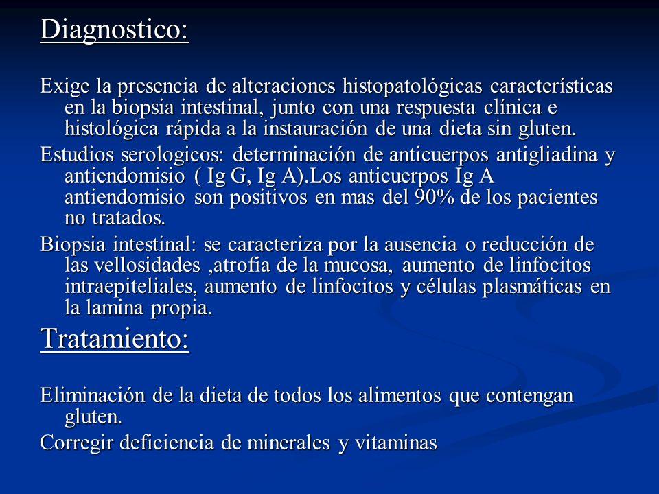 Diagnostico: Tratamiento: