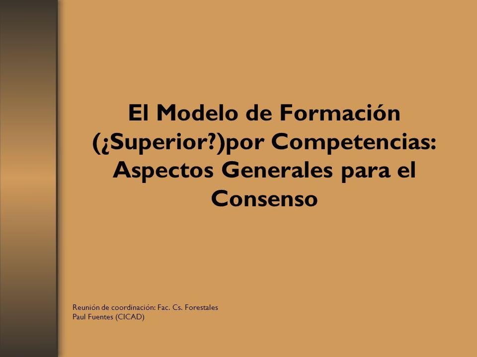 Reunión de coordinación: Fac. Cs. Forestales Paul Fuentes (CICAD)