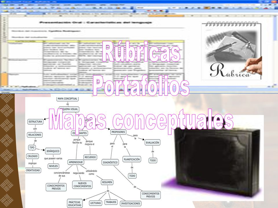 Rúbricas Portafolios Mapas conceptuales