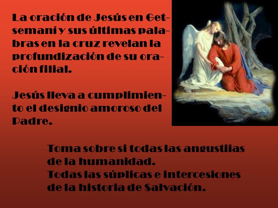 La oración de Jesús en Get-