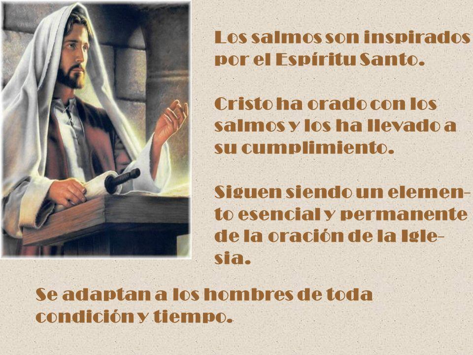 Los salmos son inspirados