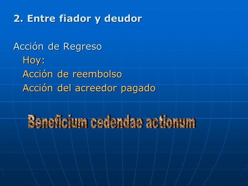 Beneficium cedendae actionum