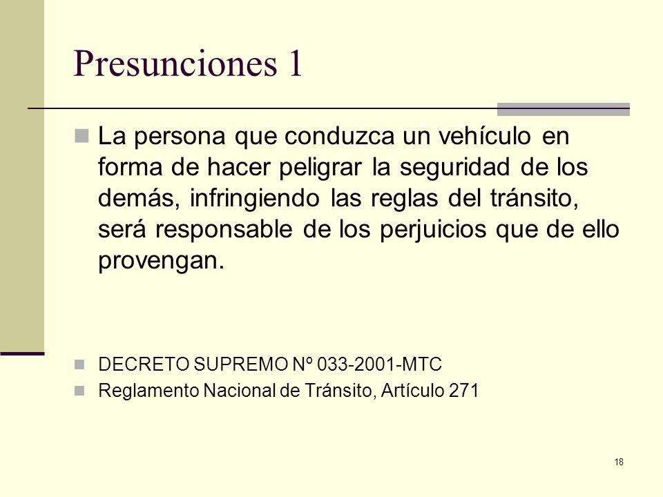 Presunciones 1