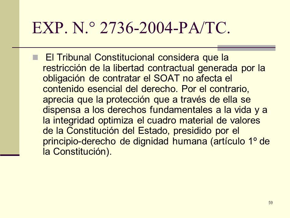 EXP. N.° 2736-2004-PA/TC.