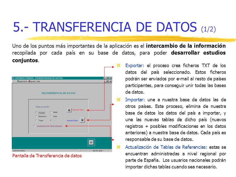5.- TRANSFERENCIA DE DATOS (1/2)