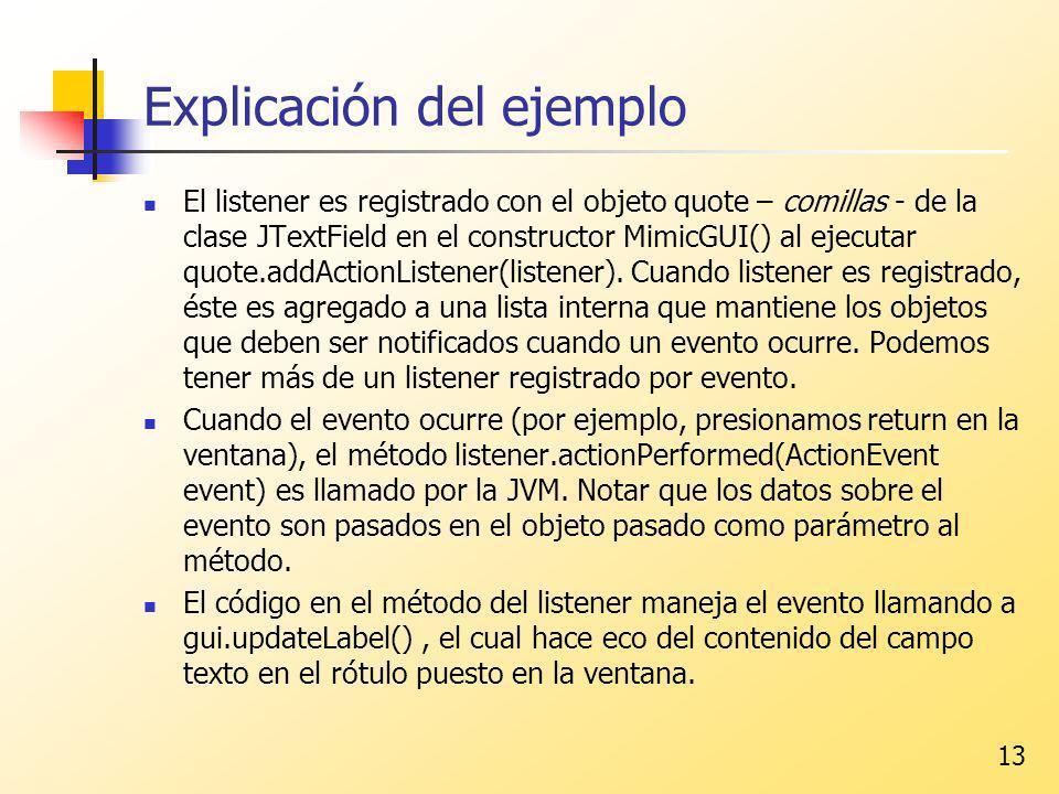 Explicación del ejemplo