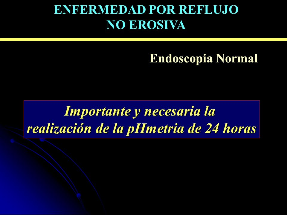 Importante y necesaria la realización de la pHmetria de 24 horas