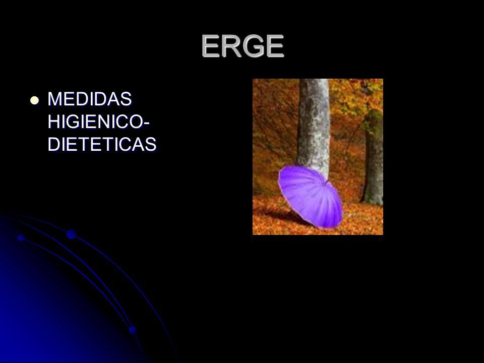ERGE MEDIDAS HIGIENICO-DIETETICAS