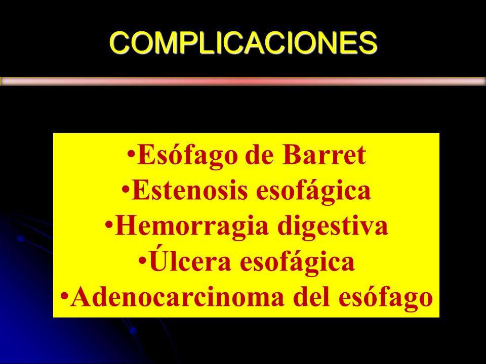 Adenocarcinoma del esófago