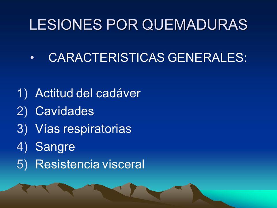 LESIONES POR QUEMADURAS