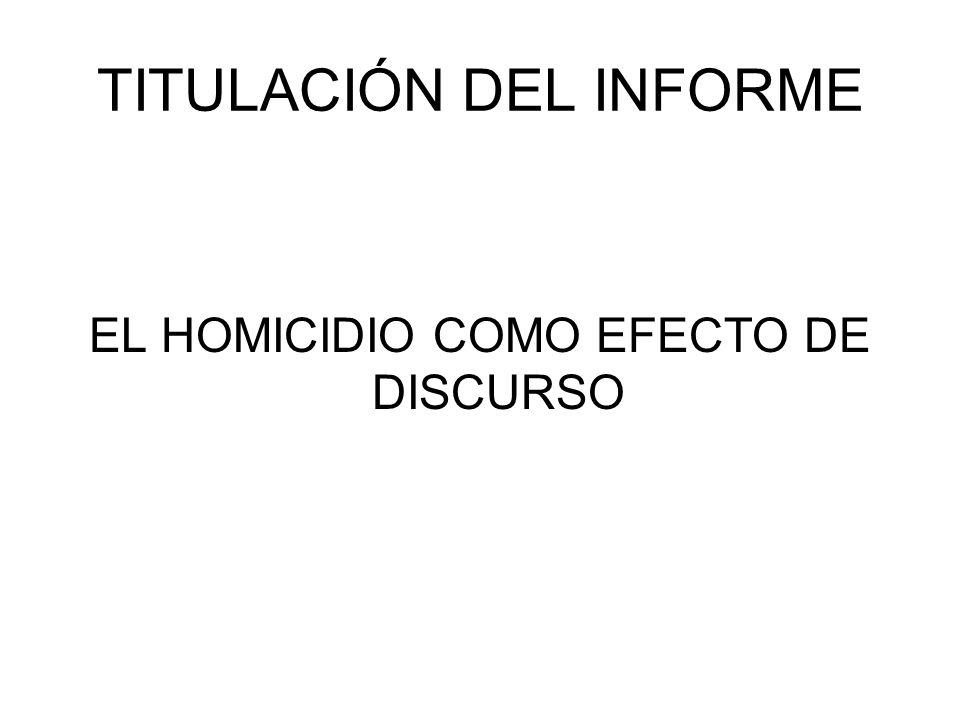 TITULACIÓN DEL INFORME