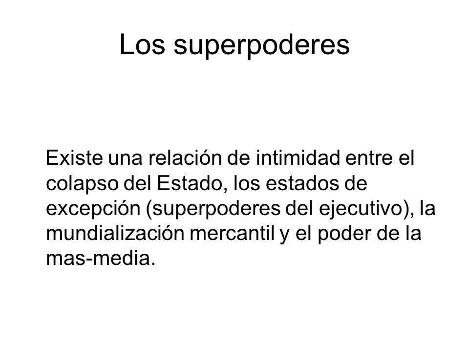 Los superpoderes
