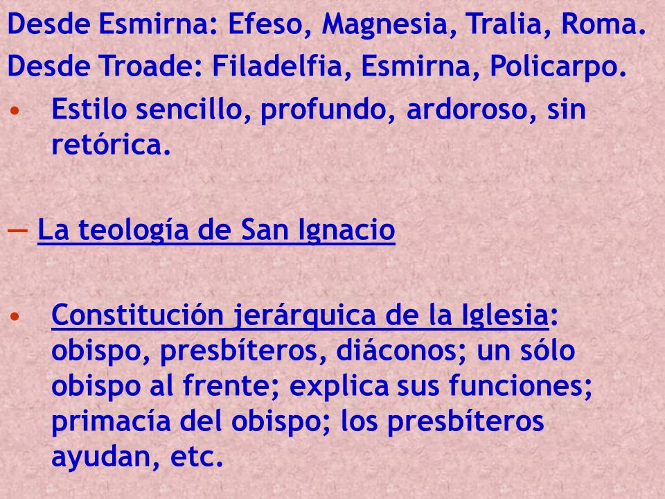 Desde Esmirna: Efeso, Magnesia, Tralia, Roma.