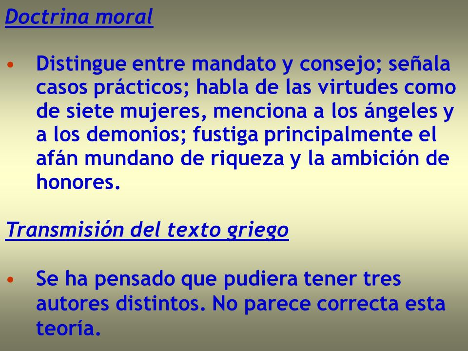 Doctrina moral