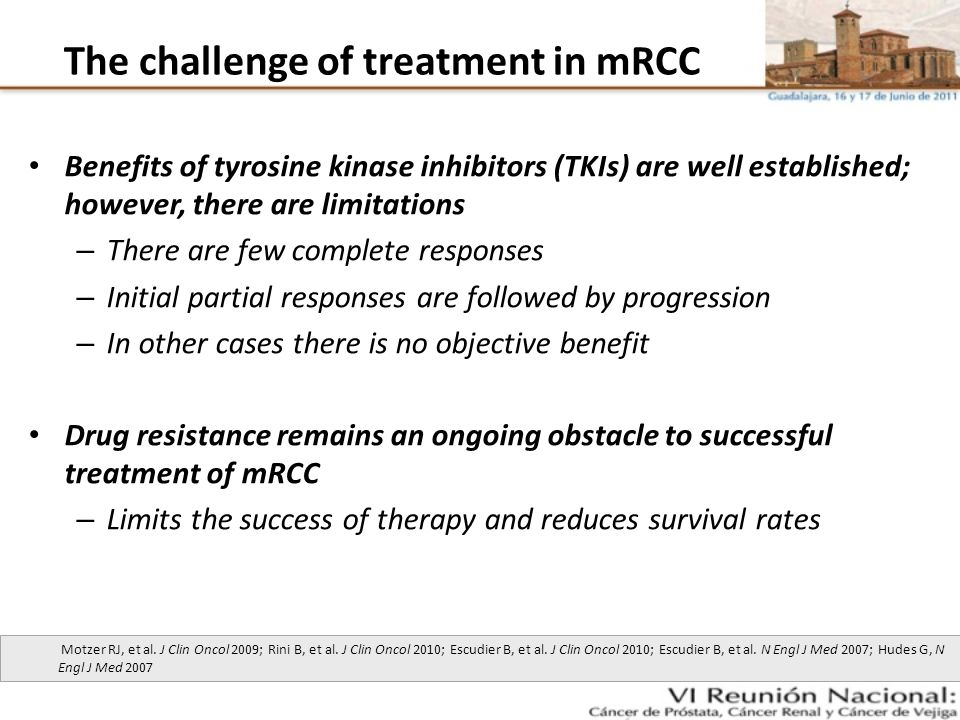 The challenge of treatment in mRCC