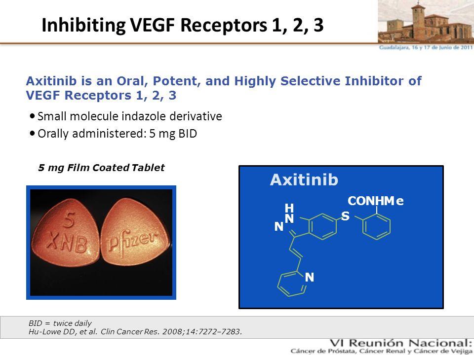 Inhibiting VEGF Receptors 1, 2, 3