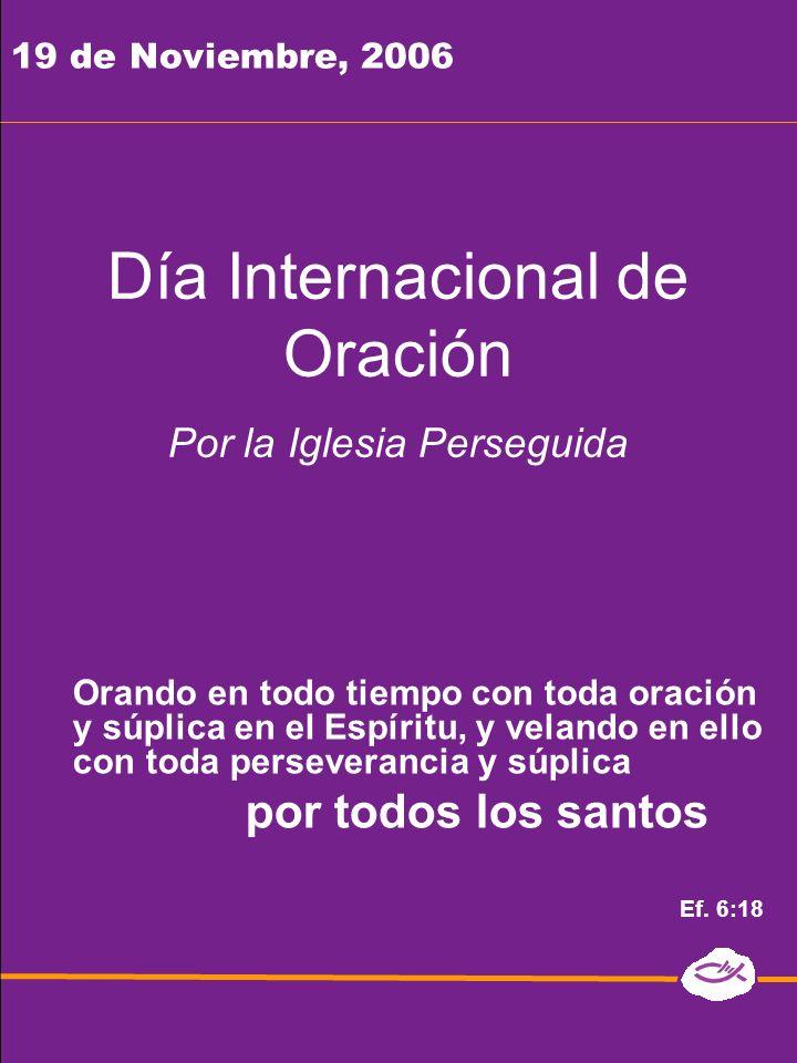 Día Internacional de Oración