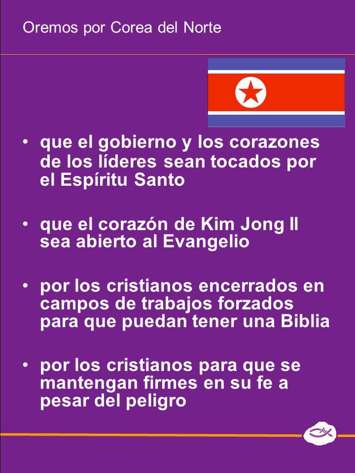 Oremos por Corea del Norte