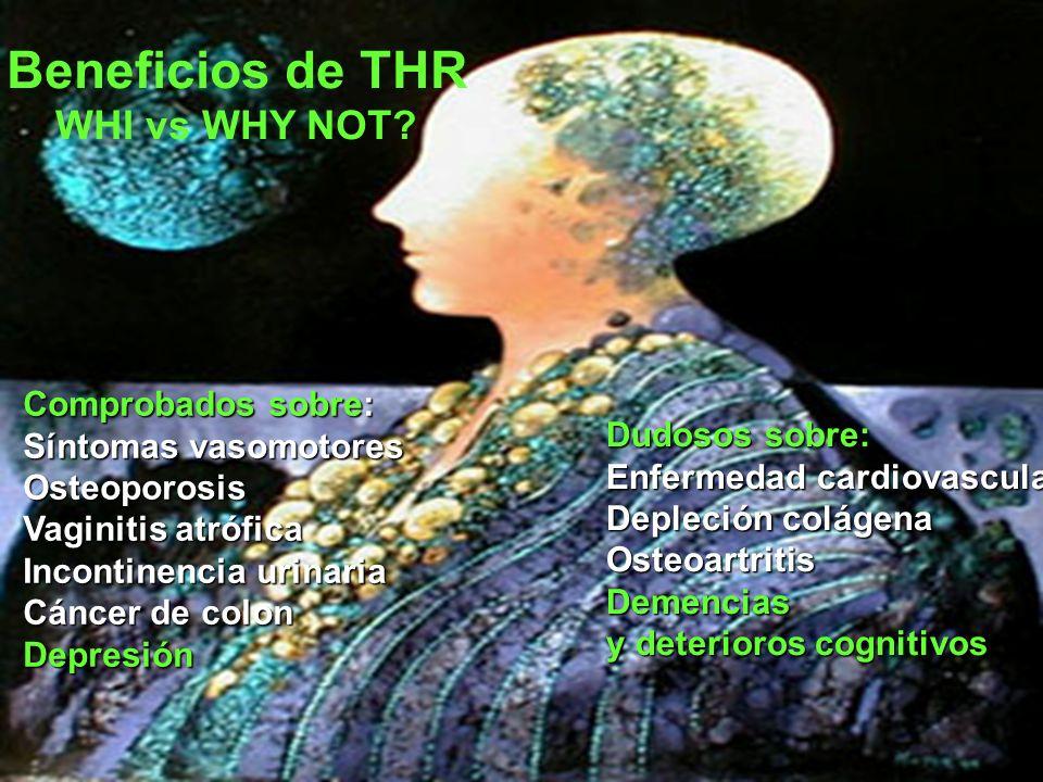 Beneficios de THR WHI vs WHY NOT